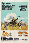 "Movie Posters:Adventure, Africa - Texas Style! and Other Lot (Paramount, 1967). One Sheets(2) (27"" X 41""). Adventure.. ... (Total: 2 Items)"
