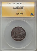 Barbados, Barbados: Commonwealth 1/2 Penny 1792,...