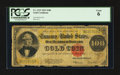 Large Size:Gold Certificates, Fr. 1215 $100 1922 Gold Certificate PCGS Good 06.. ...