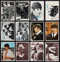 Non-Sport Cards:Lots, 1964 Topps Beatles Collection (125+) With Cards From Five Different Sets. ...