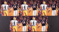 Football Collectibles:Photos, Brett Favre Signed Photographs Lot of 5 - Urlacher Pictured....