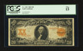 Large Size:Gold Certificates, Fr. 1181 $20 1906 Gold Certificate PCGS Fine 15.. ...