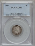 Barber Dimes: , 1903 10C XF40 PCGS. PCGS Population (3/158). NGC Census: (1/122).Mintage: 19,500,756. Numismedia Wsl. Price for problem fr...