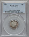 Barber Dimes: , 1896 10C XF40 PCGS. PCGS Population (7/153). NGC Census: (1/107).Mintage: 2,000,762. Numismedia Wsl. Price for problem fre...