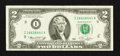 Error Notes:Ink Smears, Fr. 1935-I $2 1976 Federal Reserve Note. Very Fine+.. ...