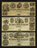 Obsoletes By State:Ohio, Franklin, OH- Franklin Silk Company $2; $3; $5 18__. ... (Total: 3notes)