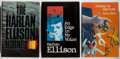 Books:Science Fiction & Fantasy, [Jerry Weist]. Harlan Ellison. Group of Three First Edition Books. Various, 1982-1990. Very good or better condition.... (Total: 3 Items)