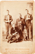 Photography:Cabinet Photos, Buffalo Bill West West Show Performers: Capt. A. H. Bogardus andSons....