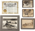 Western Expansion:Goldrush, The Old West: Gold Mining Photos and Memorabilia.... (Total: 6Items)