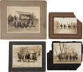 Photography:Cabinet Photos, The Old West: Mounted Photographs.... (Total: 4 Items)