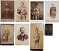 Photography:Cabinet Photos, Photography: Members of Militias.... (Total: 8 )