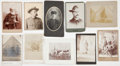 Photography:Cabinet Photos, Photography: Spanish-American War Cabinet Cards.... (Total: 10 )
