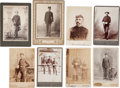 Photography:Cabinet Photos, Photographs: Spanish-American War-Era Texas Cabinet Cards.... (Total: 8 )