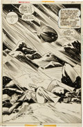 Original Comic Art:Splash Pages, Virgilio Redondo and Dan Adkins Giant-Size Dracula #5 SplashPage 30 Original Art (Marvel, 1975)....