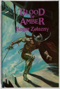 Books:Science Fiction & Fantasy, Roger Zelazny. SIGNED/LIMITED. Blood of Amber. Underwood-Miller, 1986. Limited to 400 numbered and signed copies. ...