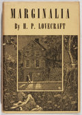 Books:Horror & Supernatural, H. P. Lovecraft. Marginalia. Arkham House, 1944. Firstedition, first printing. Minor rubbing and toning. Very good....