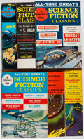 Books:Science Fiction & Fantasy, Science Fiction Classics. Group of Six Issues. Magazine Productions, 1967-1968. Toning and light wear. Very good... (Total: 6 Items)