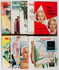 Books:Science Fiction & Fantasy, Galaxy Science Fiction Novel. Continuous Group of Issues No. 1-10. World/Galaxy, 1950-1951. Toning and light wear. Very good... (Total: 10 Items)