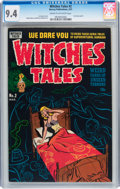 Golden Age (1938-1955):Horror, Witches Tales #2 (Harvey, 1951) CGC NM 9.4 Cream to off-whitepages....