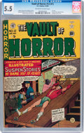 Golden Age (1938-1955):Horror, Vault of Horror #12 (#1) (EC, 1950) CGC FN- 5.5 Off-white to whitepages....