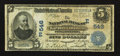 National Bank Notes:Pennsylvania, Philadelphia, PA - $5 1902 Date Back Fr. 590 The NB of Germantown Ch. # (E)546. ...