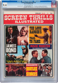 Magazines:Vintage, Screen Thrills Illustrated #10 (Warren, 1965) CGC NM 9.4 Cream to off-white pages....