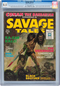 Magazines:Adventure, Savage Tales #1 (Marvel, 1971) CGC VF+ 8.5 Off-white to white pages....