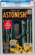 Silver Age (1956-1969):Horror, Tales to Astonish #1 Incomplete (Atlas, 1959) CGC PR 0.5 Off-whiteto white pages....