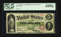 Fr. 62 $5 1862 Legal Tender PCGS Extremely Fine 45PPQ