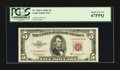 Small Size:Legal Tender Notes, Fr. 1535* $5 1953C Legal Tender Note. PCGS Superb Gem New 67PPQ.. ...