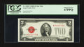 Small Size:Legal Tender Notes, Fr. 1508* $2 1928G Legal Tender Note. PCGS Superb Gem New 67PPQ.. ...