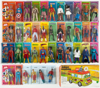 Batman and Other Superhero Mego Toy Group (1970s).... (Total: 40 Items)