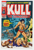 Bronze Age (1970-1979):Miscellaneous, Kull the Conqueror #1 (Marvel, 1971) Condition: NM-....