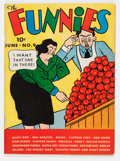 Platinum Age (1897-1937):Miscellaneous, The Funnies #9 (Dell, 1937) Condition: Apparent FN/VF....