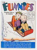 Platinum Age (1897-1937):Miscellaneous, The Funnies #6 (Dell, 1937) Condition: FN+....