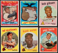 Baseball Cards:Lots, 1959 Topps Baseball Collection (114) With Gibson Rookie. ...