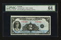 World Paper Money: , BC-4 $2 1935 French Text. ...
