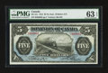 Canadian Currency: , DC-21c $5 1912. ...