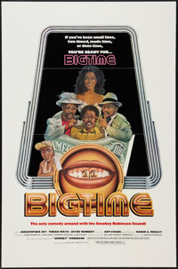 "Big Time (Big Time, 1977). One Sheet (27"" X 41""). Blaxploitation"