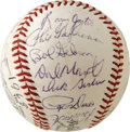Autographs:Baseballs, 1968 St. Louis Cardinals Team Signed Baseball. The NL Champion '68Cardinals narrowly lost out in the World Series to the D...