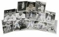 Autographs:Photos, Large Group of Signed Baseball Photographs Lot of 102. Here weoffer an eclectic group of signed baseball photos, with many...