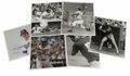 "Autographs:Photos, Massive Collection of Signed Baseball 8X10"" Photographs Lot of 77. Seventy-seven signed 8x10"" photographs are put up for gr..."