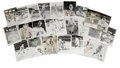 Autographs:Post Cards, Signed Baseball Postcards Lot of Over 100. Approximately 107 signedpostcards are put up for grabs here, mostly from vintag...