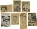 Autographs:Letters, Baseball Stars Cut Signatures Lot of 21. All of the signatures of baseball stars here have been affixed to a clipped photo ...