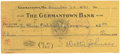 Autographs:Checks, 1941 Walter Johnson Signed Check. Christmas Eve 1941 and the hard-throwing Walter Johnson, one of the original five inducte...