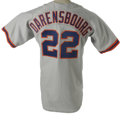 Baseball Collectibles:Uniforms, 2002 Vic Darensbourg Game-Worn Throwback Jersey. Making referenceto the mid-century minor league teams that played under t...