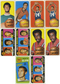 Basketball Cards:Lots, 1970-71 Topps Basketball Group Lot of 53. Quality grouping of 53cards from the set of oversized cards from the 1970-71 Top...