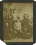 Basketball Collectibles:Others, 1908 Women's Basketball Cabinet Photograph. Amazing earlybasketball portrait depicts a 1908 women's team less than twodec...