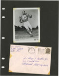 Football Collectibles:Others, Jim Nance Signed Photograph. AFL-era Jim Nance photograph from his days with the Boston Patriots is up for grabs here, comp...