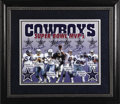 Football Collectibles:Others, Dallas Cowboys Super Bowl MVPs Multi-signed Lithograph. With a record eight Super Bowl appearances, the Dallas Cowboys have...